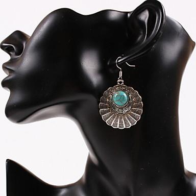Dames Druppel oorbellen Gepersonaliseerde Luxe Cirkelvormig ontwerp Uniek ontwerp Hangende stijl Riipus Tupsu Klassiek Vintage Bohémien