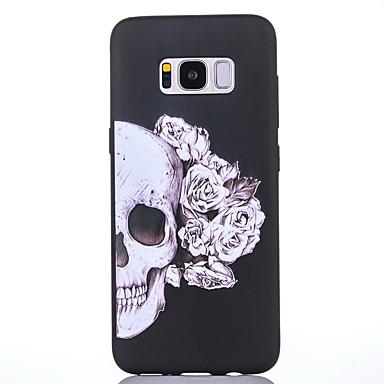 Maska Pentru Samsung Galaxy S8 Plus / S8 Mătuit / Model Capac Spate Cranii Moale TPU pentru S8 Plus / S8