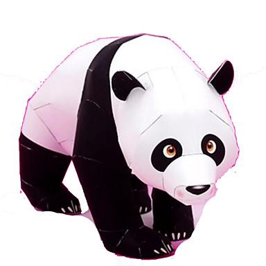 Kit Lucru Manual Puzzle 3D Modelul de hârtie Jucarii Pătrat Rață Urs Panda Animale Reparații Ne Specificat Bucăți