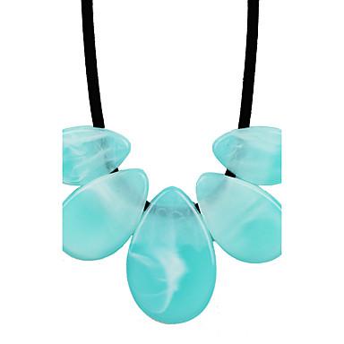 Damen Personalisiert Einzigartiges Design Böhmische Herz Kreis Modisch Euramerican Anhängerketten Synthetischer Diamant Kunststoff