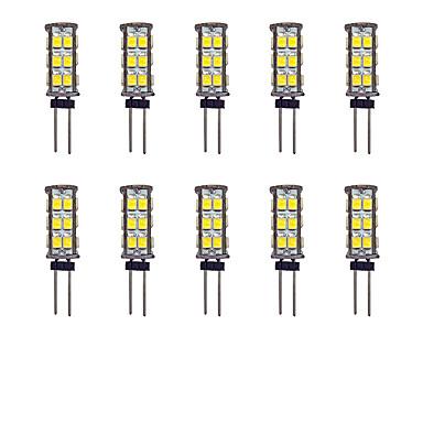2W G4 2-pins LED-lampen 26 leds SMD 2835 Warm wit Wit 145lm 3000-3500/6000-6500K DC 12V