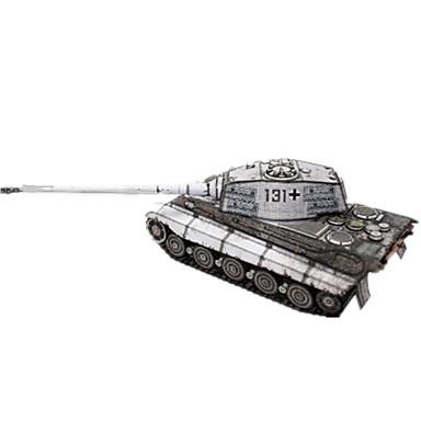 3D-puzzels Bouwplaat Modelbouwsets Vierkant Tank Hard Kaart Paper Jongens Unisex Geschenk