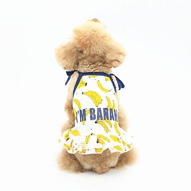 Hund Kleider Hundekleidung Lässig/Alltäglich Frucht Weiß Gelb Blau Kostüm Für Haustiere