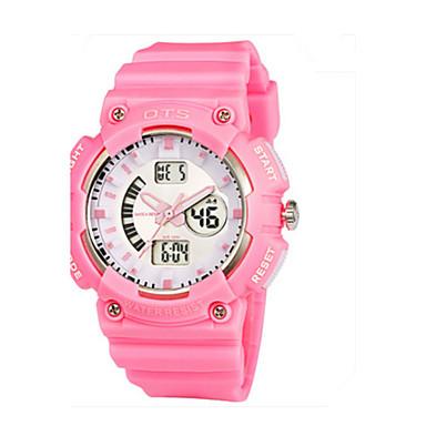 Dames Modieus horloge Digitaal Rubber Band Informeel Blauw Roze Paars