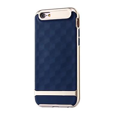 Caz pentru Apple iPhone 7 7 plus tpu model geometric cu cadru pc acoperire rezistentă la șoc acoperire pentru iphone 6s 6 plus se 5s 5