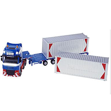 Jucării pentru mașini Vehicul Die-cast Jucarii Motocicletă Vehicul de Construcție Vehicul Pompieri Excavator Jucarii Dreptunghiular