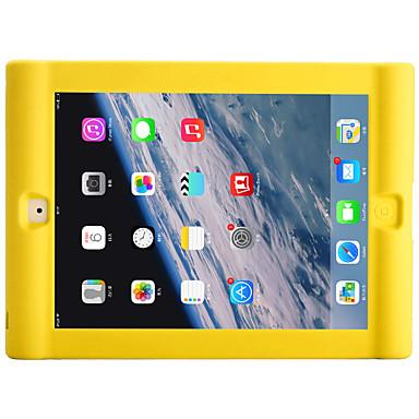 Voor apple ipad 4/3/2 schokbestendig achterhoes hoesje zachte siliconen met zachte kleur