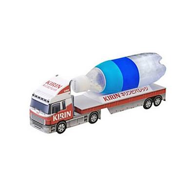 Speelgoedauto's 3D-puzzels Legpuzzel Papierkunst Vrachtwagen 3D Simulatie DHZ Klassiek Truck Unisex Geschenk
