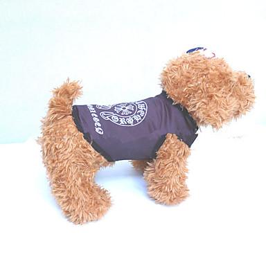 Hund Weste Hundekleidung Geometrisch Weiß Schwarz Weiß / Schwarz Elasthan Kostüm Für Haustiere Sommer Lässig / Alltäglich