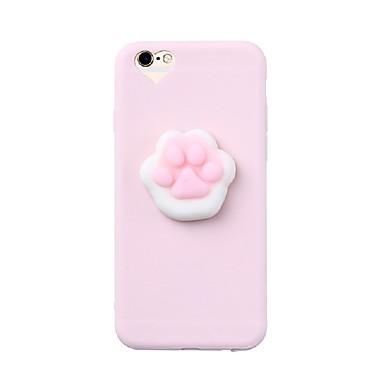 hoesje Voor Apple DHZ squishy Achterkantje Andere Zacht Siliconen voor iPhone 7 Plus iPhone 7 iPhone 6s Plus iPhone 6 Plus iPhone 6s