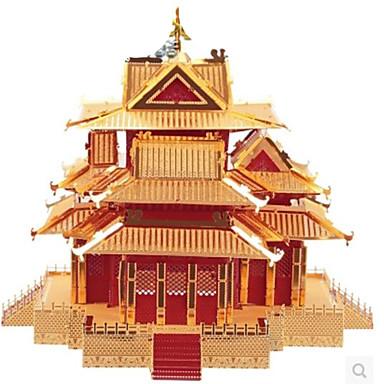 3D - Puzzle Holzpuzzle Metallpuzzle Modellbausätze Berühmte Gebäude Architektur 3D Heimwerken Aluminium Metal Klassisch 6 Jahre alt und