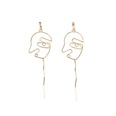 للمرأة مخصص موديل الزينة المعلقة euramerican في موضة سبيكة مجوهرات ذهبي لباس يومي فضفاض ملابس الخارج مجوهرات