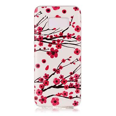 Hülle Für Samsung Galaxy S8 Plus S8 Im Dunkeln leuchtend Muster Rückseitenabdeckung Blume Weich TPU für S8 S8 Plus