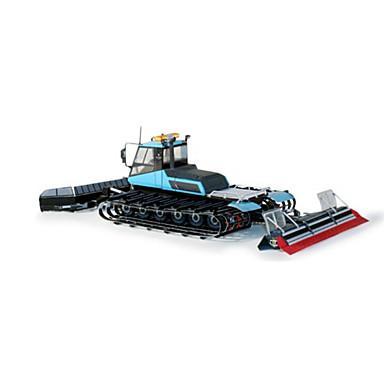 Spielzeug-Autos 3D - Puzzle Holzpuzzle Papiermodelle Gabelstapler Simulation Einrichtungsartikel Heimwerken Klassisch Harvester Kinder