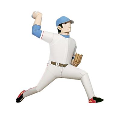 3D-puzzels Ballen Bouwplaat Honkbalspeelgoed Papierkunst Modelbouwsets Golf DHZ Hard Kaart Paper Klassiek Sporten Kinderen Jongens Unisex