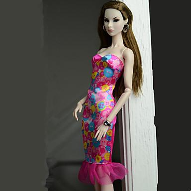 الفساتين فستان إلى الدمية باربي فستان إلى لفتاة دمية لعبة