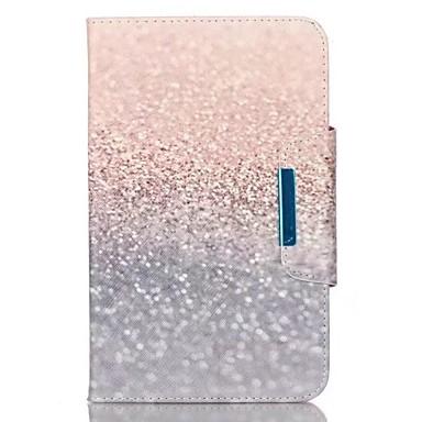 Voor Samsung Galaxy Tab een 9.7 tab e 9.6 case cover zand patroon pu huid materiaal samsung vlak beschermende shell tab een 8.0 tab 3 lite