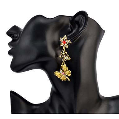 Dames Druppel oorbellen Bergkristal Basisontwerp Uniek ontwerp Hangende stijl Bergkristallen Vriendschap PERSGepersonaliseerd Elegant