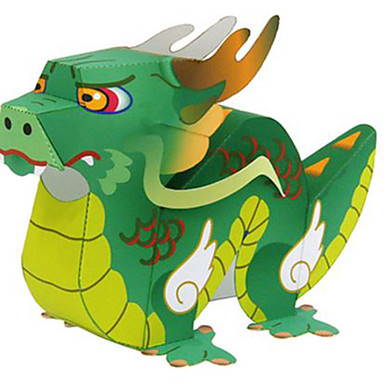 3D-puzzels Bouwplaat Dieren DHZ Hard Kaart Paper Chinese stijl Kinderen Unisex Geschenk
