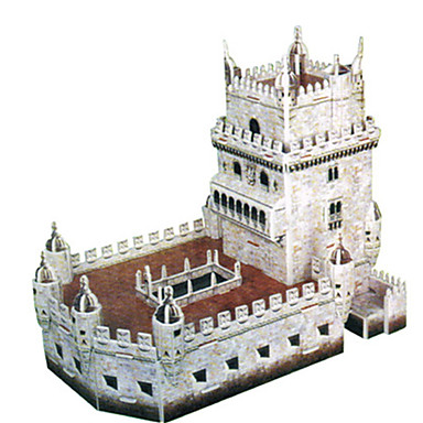 Puzzle 3D Puzzle Μοντέλα και κιτ δόμησης Castel Turn Clădire celebru Arhitectură 3D Reparații Hârtie cărți de masă Clasic Desen animat