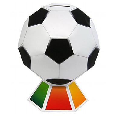 3D-puzzels Ballen Bouwplaat American football speelgoed Modelbouwsets Papierkunst Speeltjes Voetbal 3D DHZ Unisex Stuks
