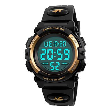 Χαμηλού Κόστους Ανδρικά ρολόγια-SKMEI Ανδρικά Αθλητικό Ρολόι Ρολόι Καρπού Ψηφιακό ρολόι Ιαπωνικά Ψηφιακό Συνθετικό δέρμα με επένδυση Μαύρο 50 m Ανθεκτικό στο Νερό Συναγερμός Ημερολόγιο Ψηφιακό Μοντέρνα - Μαύρο Κόκκινο Μπλε
