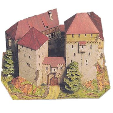 Puzzle 3D Modelul de hârtie Lucru Manual Din Hârtie Μοντέλα και κιτ δόμησης Castel Moara de vant Clădire celebru Arhitectură Reparații