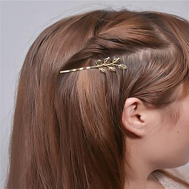 Europa e gli Stati Uniti commercio estero moda accessori semplici capelli personalità jerk capelli clip foglia forcella avea a0307-0308