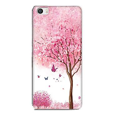 Voor xiaomi mi 5 case cover patroon achterkant hoesje bloem dier zachte tpu