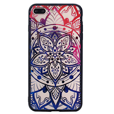 Case cover voor iphone 7 plus 7 patroon back cover case mandala harde pc voor 6s plus 6 plus 6s 6 se 5s 5