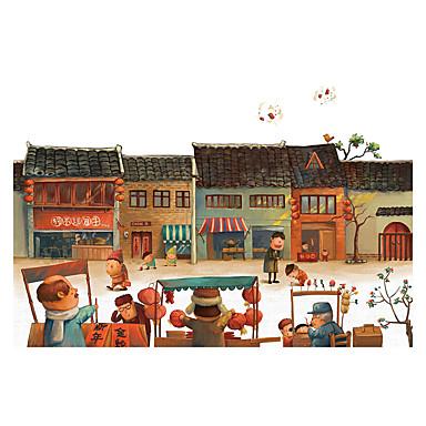 Holzpuzzle Laterne Burg Berühmte Gebäude Haus Architektur Zeichentrick Hölzern Holz Unisex Geschenk