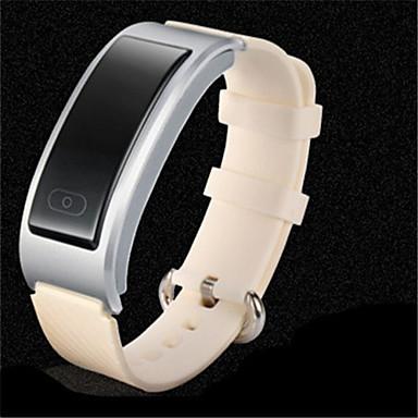 للمرأة ساعة ذكية ساعات فاشن رقمي سيليكون فرقة أسود فضة ذهبي