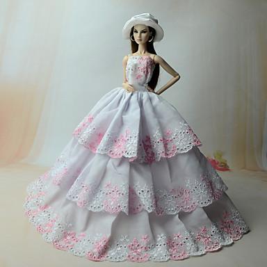 Jurken Jurk Voor Barbiepop Jurken Voor voor meisjes Speelgoedpop