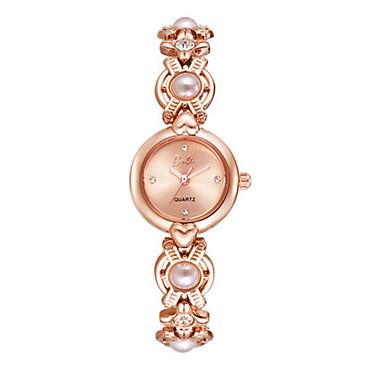 Dames Modieus horloge Kwarts Legering Band Zilver Goud Goud Rose