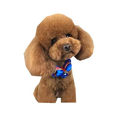 كلب ربطة عنق ملابس الكلاب كاجوال/يومي ببيونة كوستيوم للحيوانات الأليفة