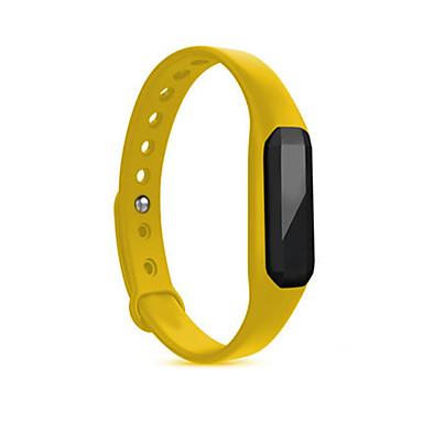 Heren Sporthorloge Slim horloge Digitaal Waterbestendig Hartslagmeter Rubber Band Rood Paars Geel