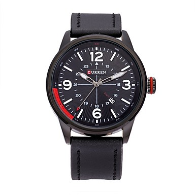 Herrn Sportuhr Kleideruhr Smart Watch Modeuhr Armbanduhr Einzigartige kreative Uhr Chinesisch Quartz Kalender Wasserdicht Großes
