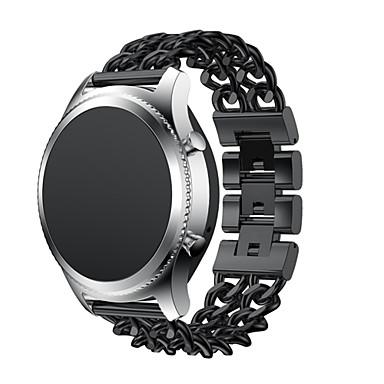 Uhrenarmband für Gear S3 Classic Gear S3 Classic LTE Samsung Galaxy Klassische Schnalle Edelstahl Handschlaufe