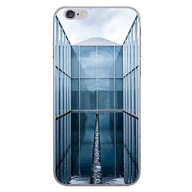 Case voor apple iphone 7 7 plus case cover landschap patroon hd geschilderd dikker tpu materiaal zacht geval telefoon hoesje voor iphone