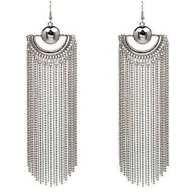 Damen Tropfen-Ohrringe Modisch Vintage individualisiert überdimensional Aleación Linienform Schmuck Für Sonstiges Bühne Ausgehen