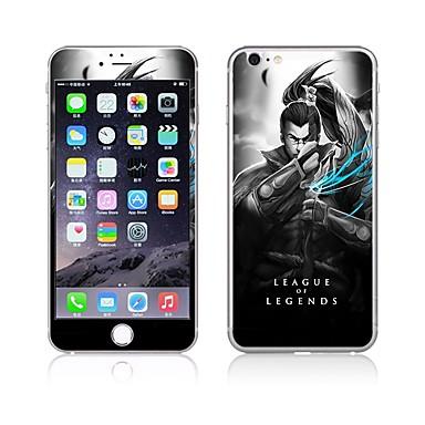 Ecran protector pentru Apple iPhone 6s iphone 6 Sticlă securizată Ecran Protecție Față & Spate High Definition (HD) 9H Duritate 2.5D