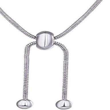 Dames Hangertjes ketting Sieraden Geometrische vorm Legering Modieus PERSGepersonaliseerd Eenvoudige Stijl Sieraden VoorBruiloft Feest