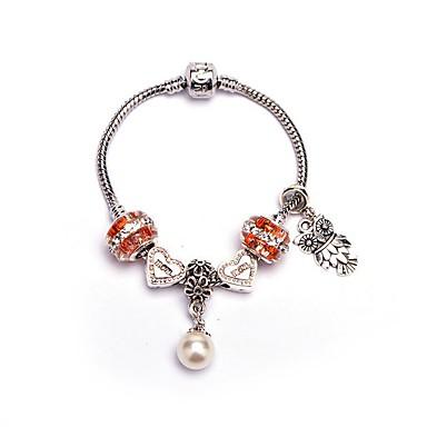 Pentru femei Brățări cu Talismane Imitație de Perle Modă Geometric Shape Bijuterii Crăciun Petrecere Aniversare Zi de Naștere Petrecere /