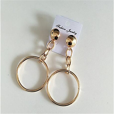 للمرأة مخصص مثيرة أسلوب بسيط المتضخم سبيكة دائري مجوهرات من أجل الغير مواعدة شارع نادي