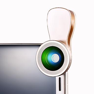 Cherllo 034 Telefonobjektiv Weitwinkelobjektiv Makroobjektiv Aluminium 10x Handykameraobjektivinstallationssatz für Samsung android