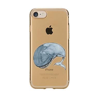 Caz pentru iphone 7 6 tpu animal moale ultra-subțire spate cover case acoperă iphone 7 plus 6 6s plus se 5s 5 5c 4s 4