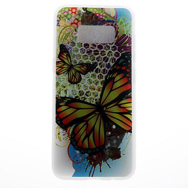 غطاء من أجل Samsung Galaxy S8 Plus S8 نموذج غطاء خلفي فراشة ناعم TPU إلى S8 S8 Plus S7 edge S7 S6 edge S6