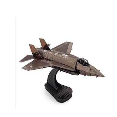 Holzpuzzle Metallpuzzle Spielzeuge Flugzeug Kämpfer 3D Heimwerken Einrichtungsartikel Edelstahl Kupfer Metal keine Angaben Stücke