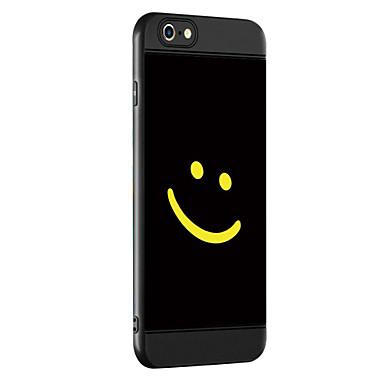حالة لتفاح إفون 7 7 زائد حالة تغطية يبتسم الوجه نمط سماكة تبو المواد رذاذ حالة الهاتف لآيفون 6 6 ثانية 6 زائد 6 ثانية زائد