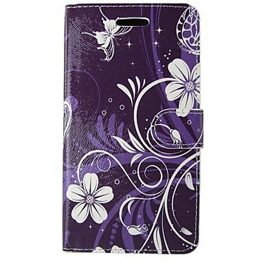 Maska Pentru Apple iPhone 7 Plus iPhone 7 Titluar Card Portofel Cu Stand Întoarce Model Carcasă Telefon Floare Greu PU piele pentru